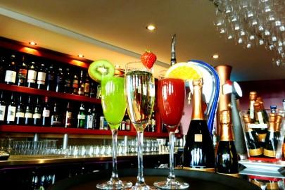 Prosecco cocktails at Trattoria 51