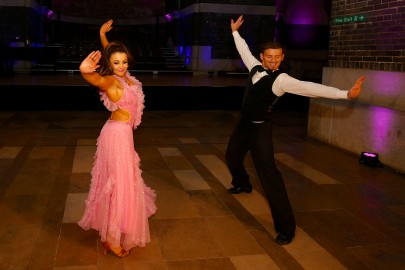 Strictly, ballroom dancers. Your Move Property Awards 2015