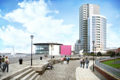 The proposed Herculaneum Quay development