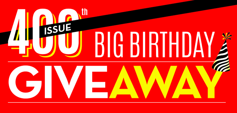 400th issue, Your Move, Big Birthday Giveaway