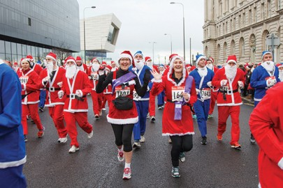 Keppie Massie, Liverpool Santa Dash
