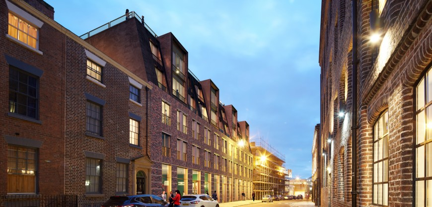 Wolstenholme Square, Seel Street, Liverpool city centre