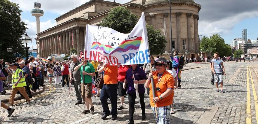Liverpool Pride, Liverpool Pride March