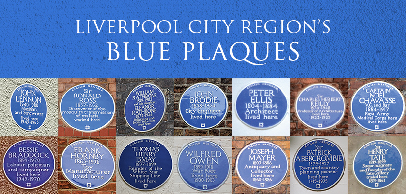 Blue plaques in the Liverpool City Region