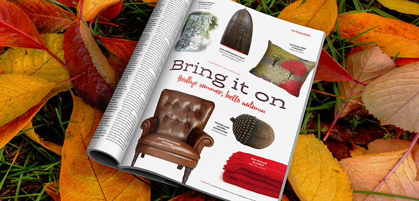 Home interiors: Welcome autumn