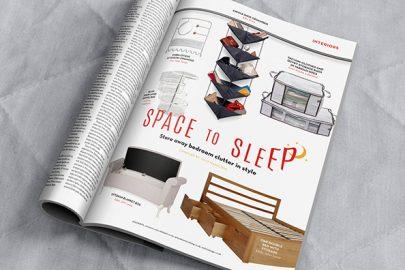 Home interiors: Bedroom storage
