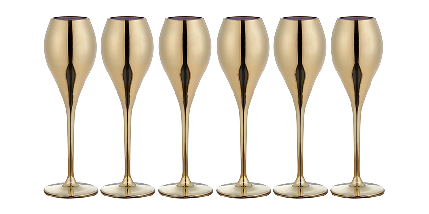 Home interiors: Festive glassware