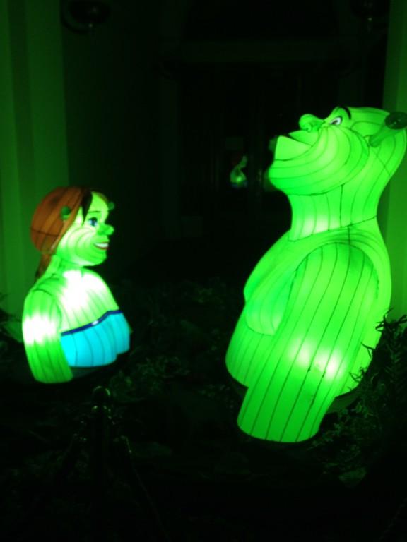 DreamWorks Lights, Liverpool, St George's Hall