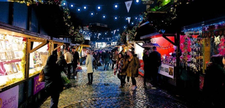 Christmas Market, Winter Market, Liverpool