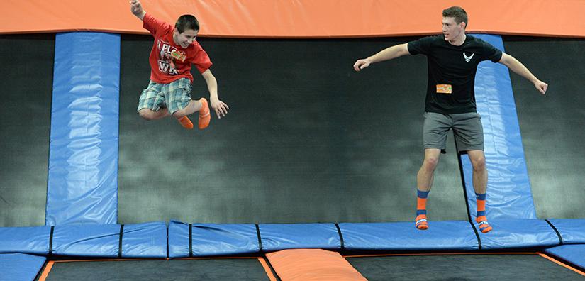 Liverpool, South Liverpool, Velocity, trampoline, indoor trampoline park