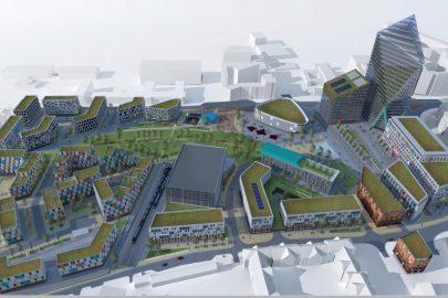 Paddington Village, masterplan