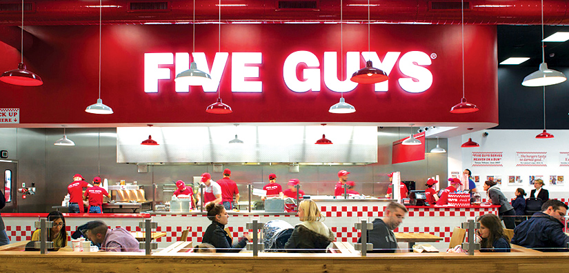 Five Guys Liverpool ONE