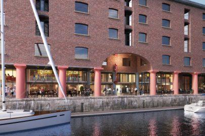 Albert Dock, Colonnades, Aberdeen Asset Management, glazing strategy, Liverpool