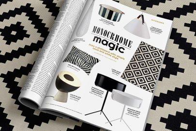 Home interiors: Monochrome magic