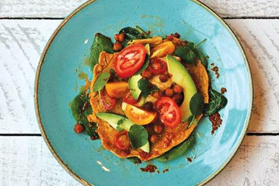 Vegan recipe: Love Thy Neighbour - Classic chickpea pancake