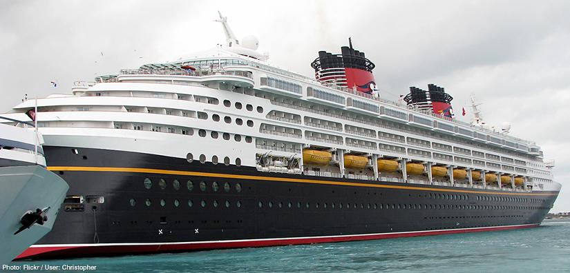 cruise, Liverpool Cruise Terminal, Disney Magic
