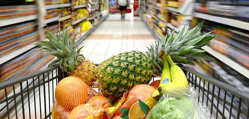 Kirkby, supermarket