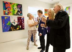 Andrew Marr unveils Liverpool art exhibition