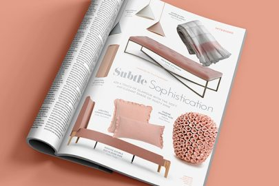 Dusky pink, home interiors