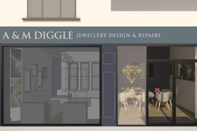 jewellers, Liverpool, A & M Diggle