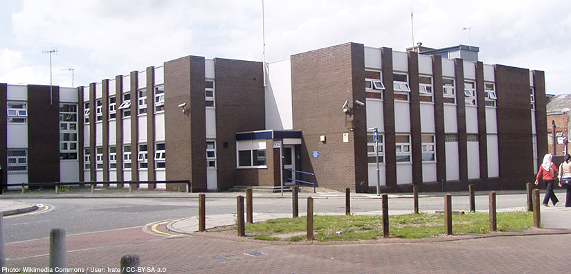 Copperas Hill, Copperas Hill Police Station