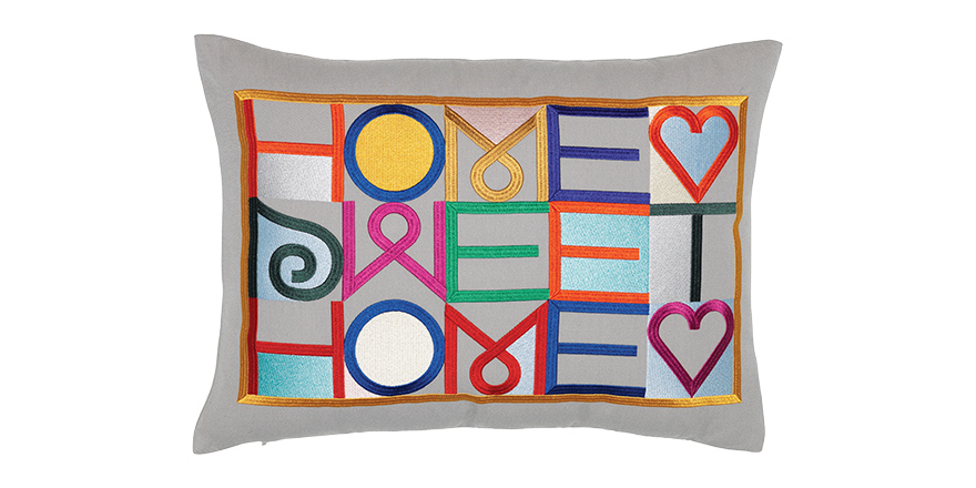 Christmas gifts for the home - Home Sweet Home cushion