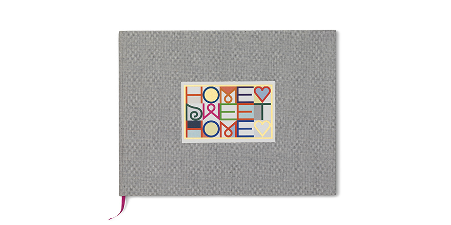 Christmas gifts for the home - Home Sweet Home guestbook