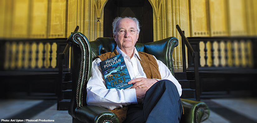 Interview: Best-selling author Philip Pullman talks to Your Move