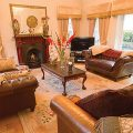 Lovely lounges with focal fireplaces