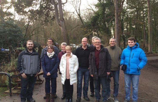 Burbo Bank Extension, Royden Park Ranger Volunteer Group