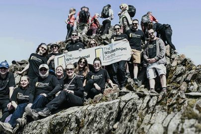 Snowdon charity climb raises £1800 for Whitechapel Centre