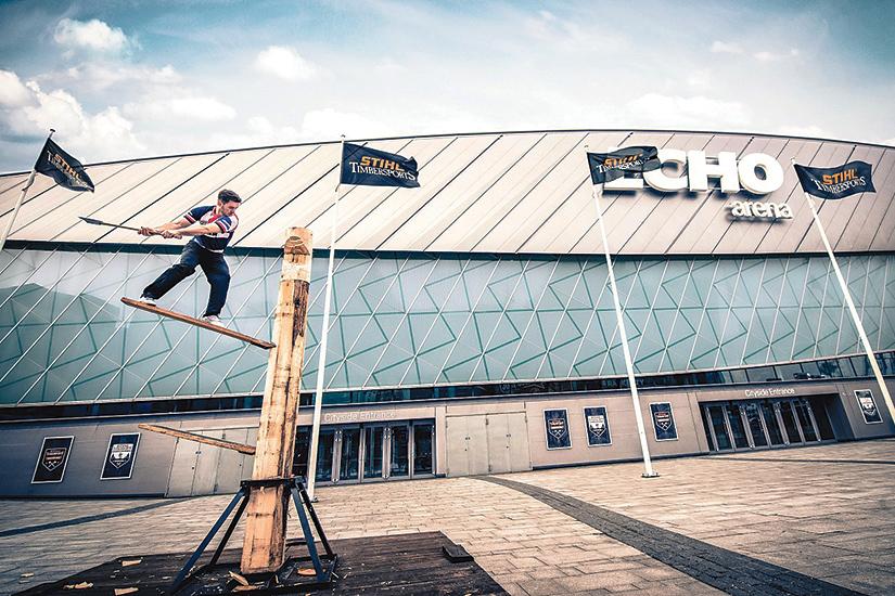 Save the Dates Liverpool: Timbersports World Championship