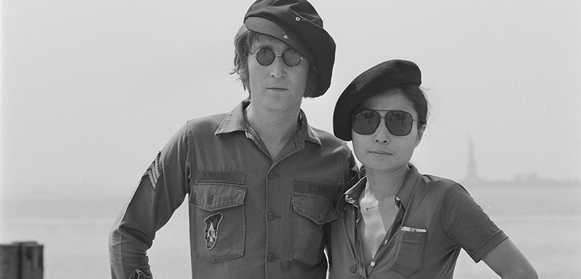 John Lennon And Yoko Ono Exhibition Arrives At Museum Of Liverpool
