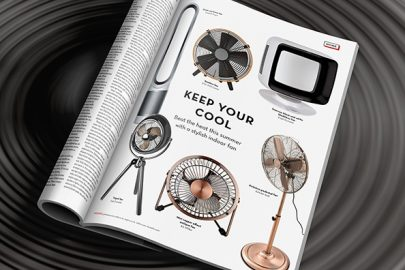 Keep your cool: Beat the heat this summer with a stylish indoor fan