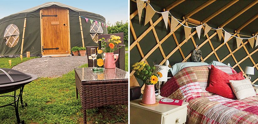Camping near Liverpool - Cheshire Farm Yurts