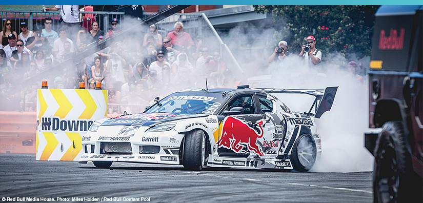 Ready for the Weekend - Red Bull Drift Shifters