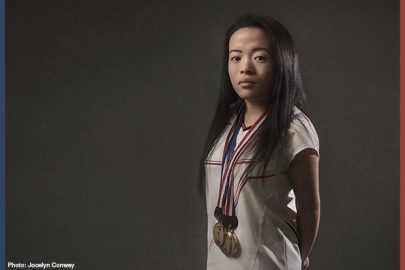 Rachel Choong - Para badminton gold medalist