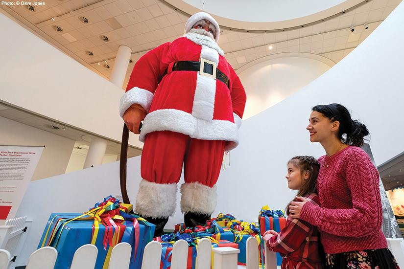 Christmas Countdown: Festive family fun in Liverpool - Big Santa