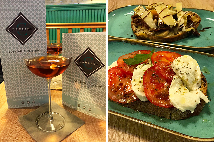 Carlisi, Dale Street - Restaurant Review