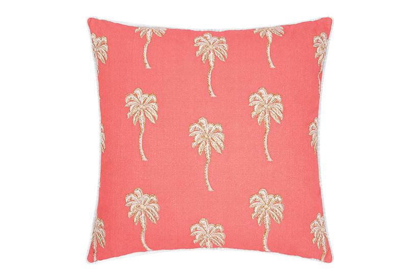 Elizabeth Scarlett Palmier cushion - £50, Amara