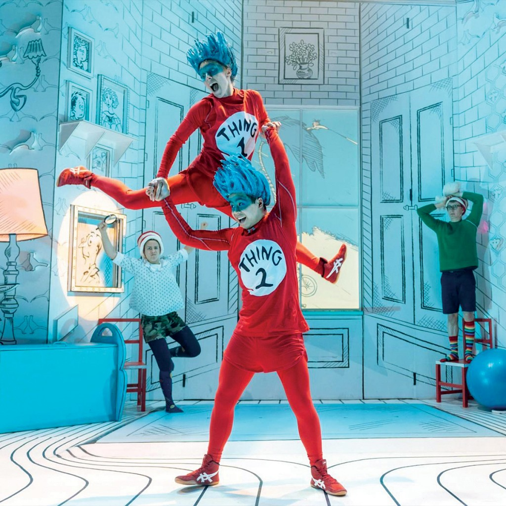 Half term in Liverpool - The Cat in the Hat, Playhouse