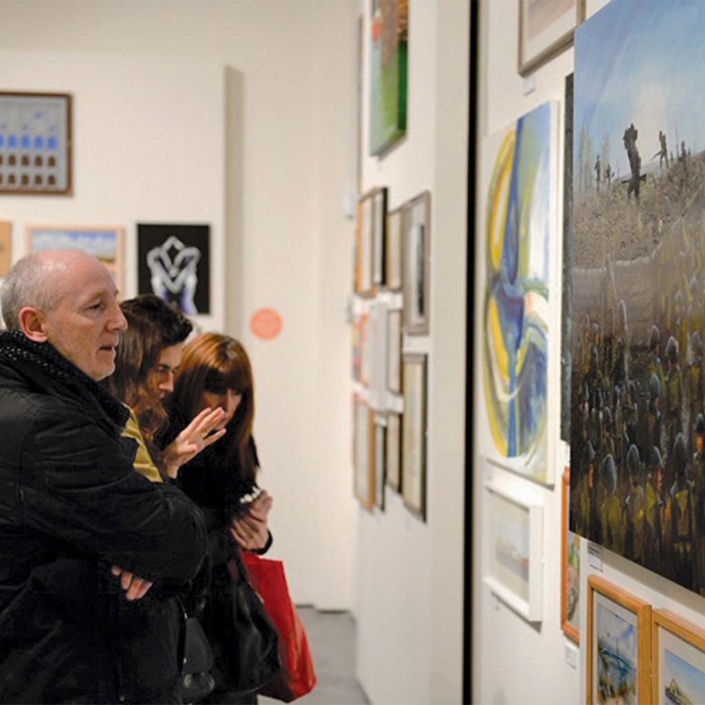 Half term in Liverpool - Knowsley Open Art Exhibition