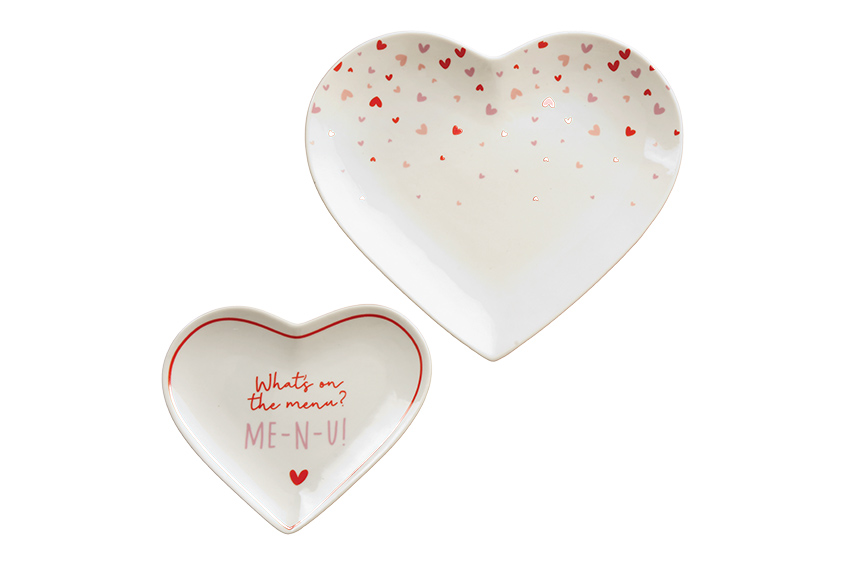 Interiors: Baking homewares inspired by love this Valentine's Day
