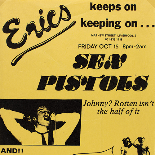 Free attractions in Liverpool - Punk exhibition