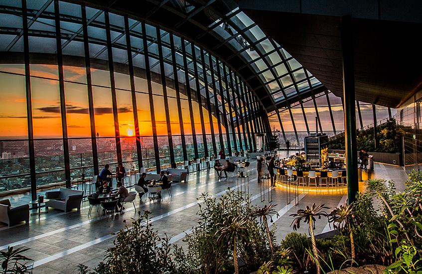 London city break - an insiders' guide - Sky Garden