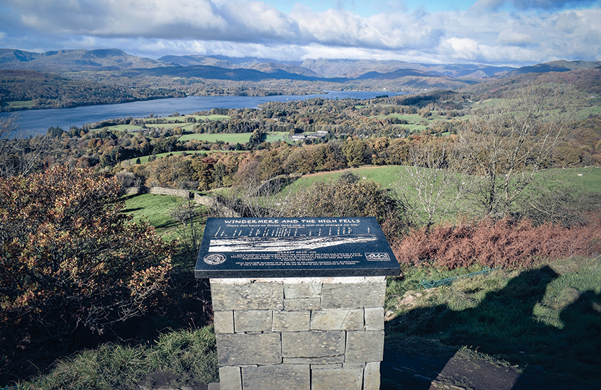 Hiking near Liverpool: Orrest Head walk Windermere