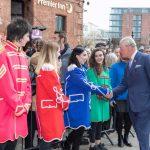 Prince Charles, Royal Albert Dock Liverpool