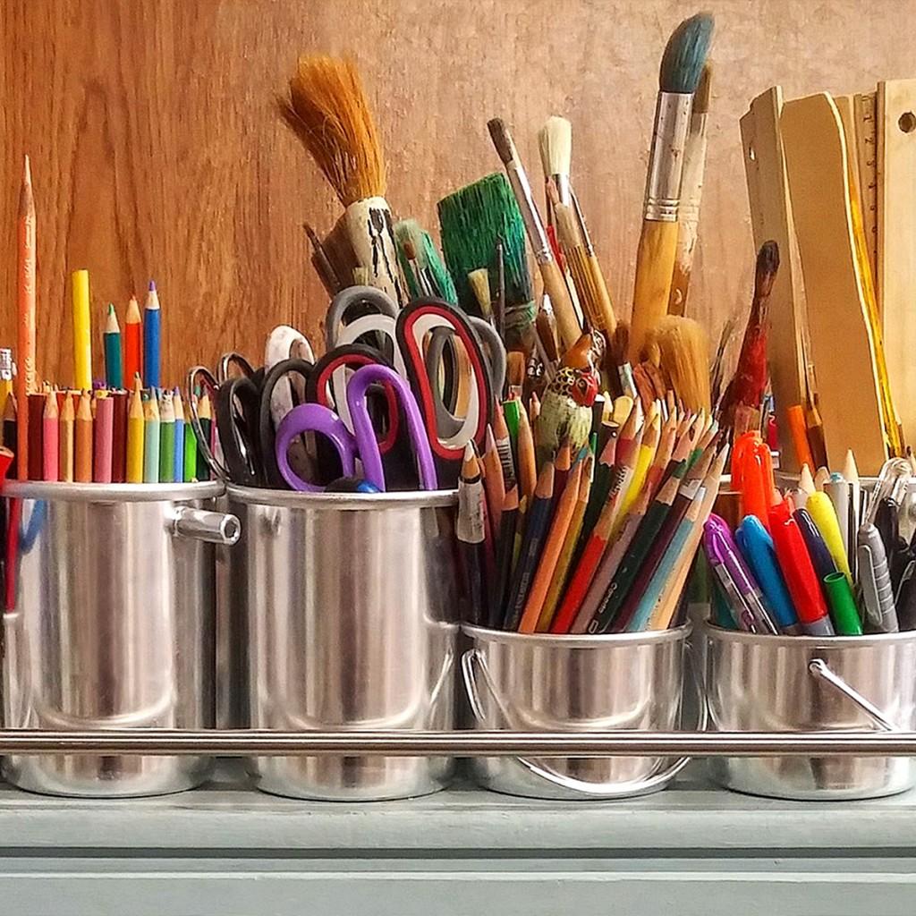 Ready for the weekend in Liverpool - Bluecoat mini art school