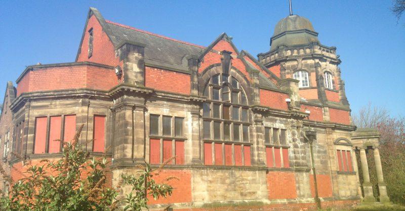 Lister Steps, Andrew Carnegie Library