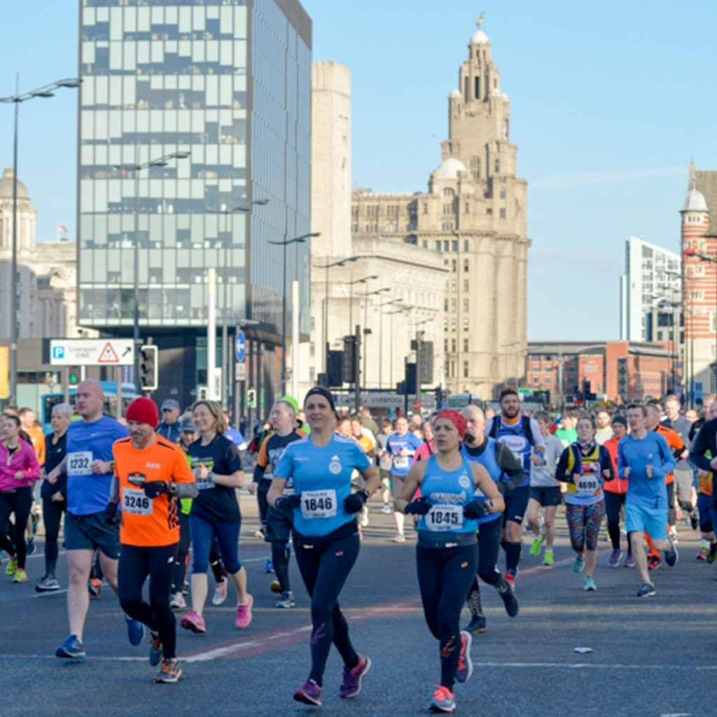 Ready for the Weekend in Liverpool - BTR Liverpool half marathon